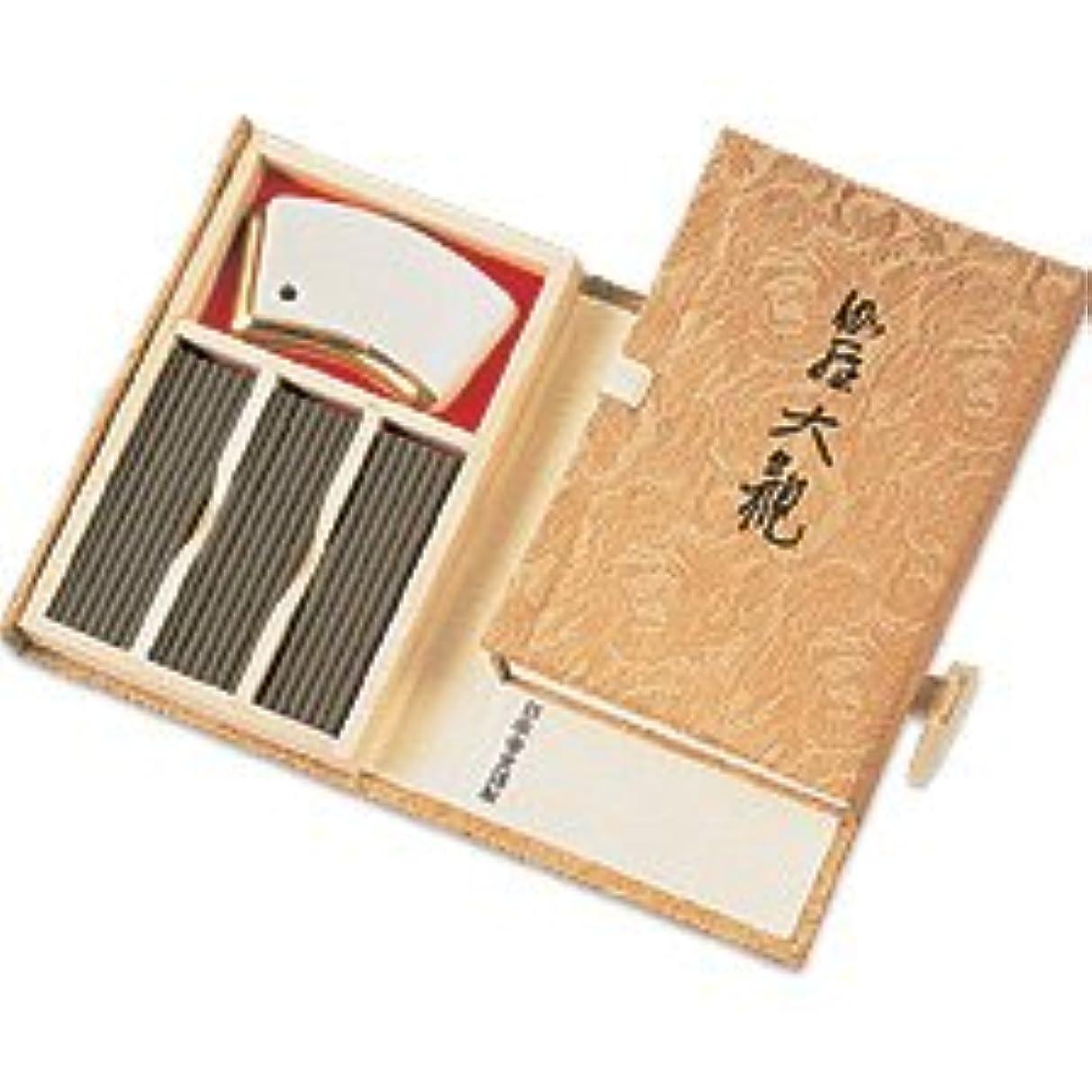 踊り子ヘア満足できるKyara Taikan – プレミアムAloeswood IncenseからNippon Kodo – ギフトボックス