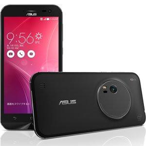エイスース SIMフリースマートフォンZenFone Zoom 32GBモデルスタンダードブラック ZX551ML-BK32S4PL
