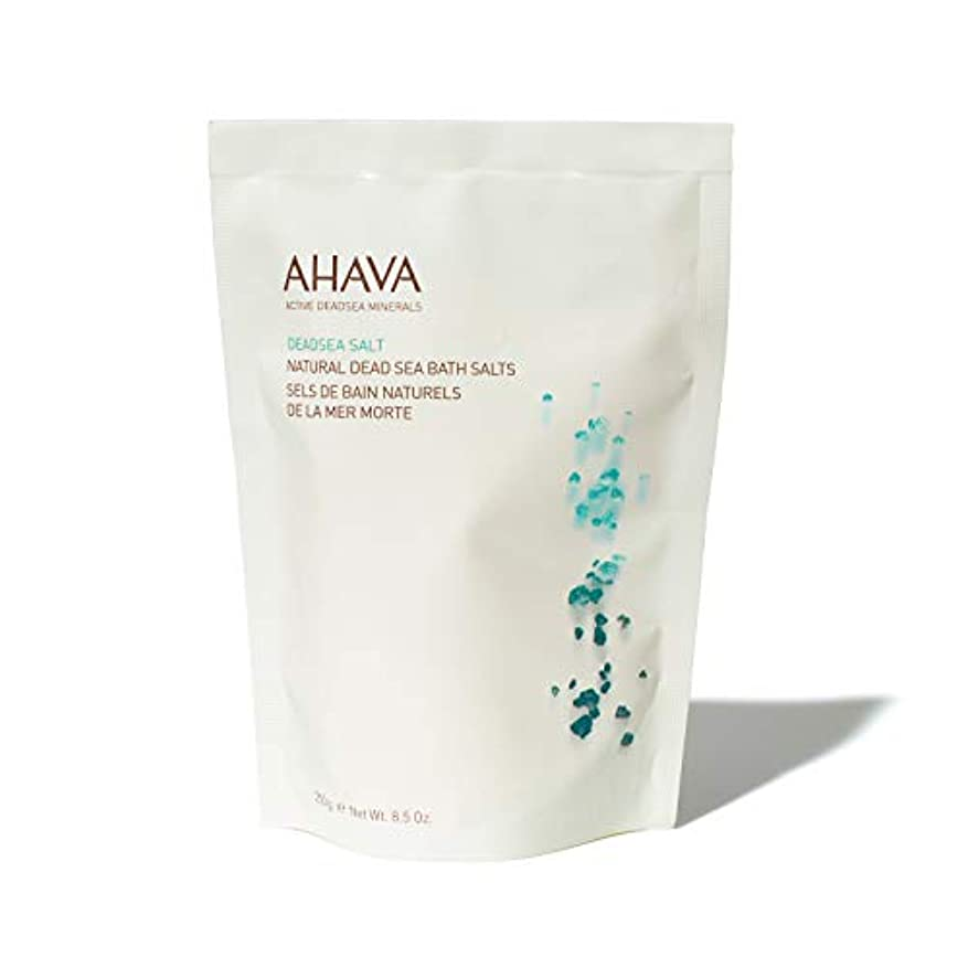 冷蔵する下向き愚かなAHAVA Natural Dead Sea Mineral Bath Salts 250 g