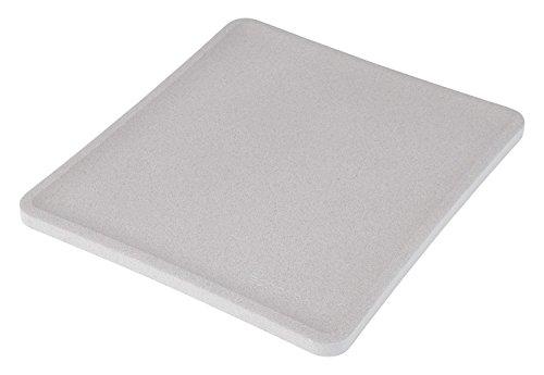 マーナ 多孔質セラミック エコカラット トースト皿 グレー K686GY
