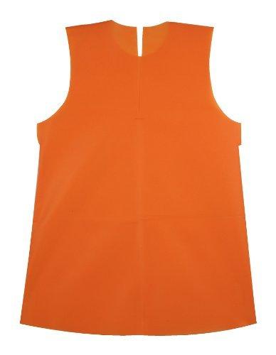 アーテック 衣装ベース C ワンピース キッズコスチューム オレンジ 男女共用 着丈600cm...