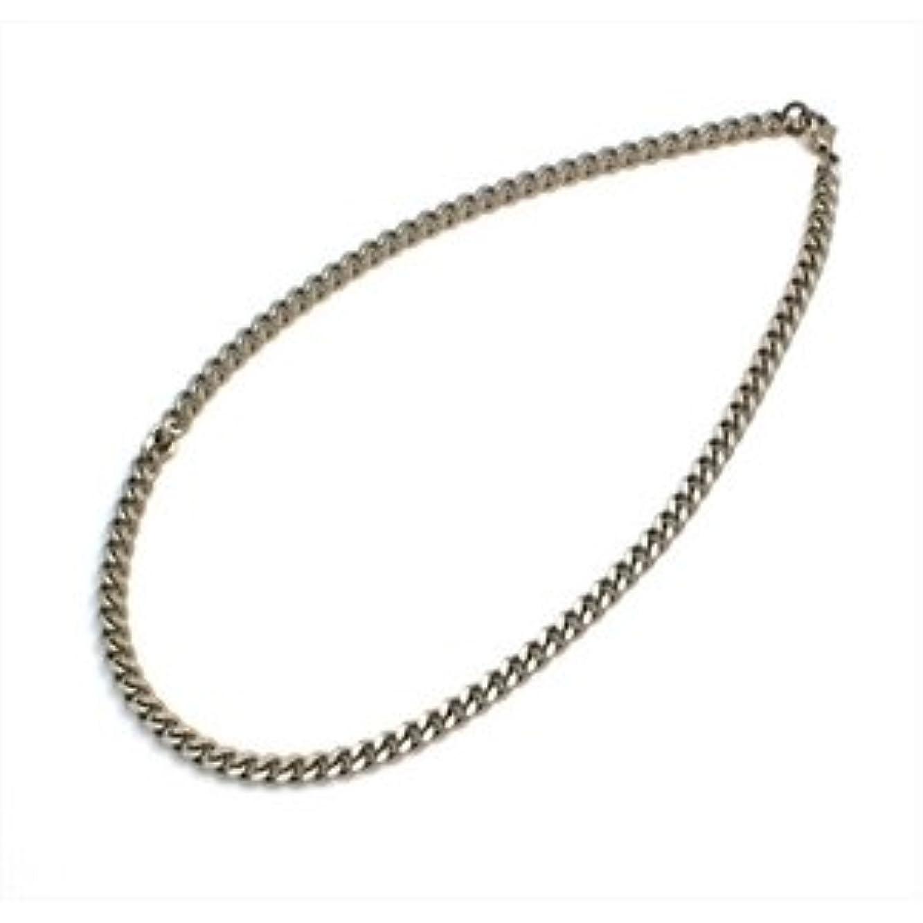 ノーブル繊維ゆるいチタン製キヘイネックレス 幅 7.0mm/長さ 40cm