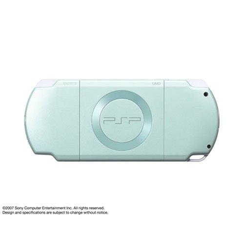 PSP「プレイステーション・ポータブル」 ミント・グリーン (PSP-2000MG) 【メーカー生産終了】