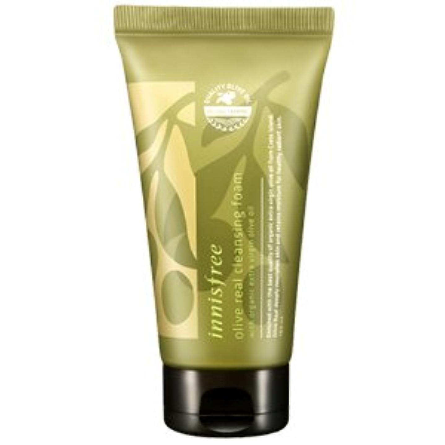 自然刺繍魅力的であることへのアピールinnisfree(イニスフリー) Olive real cleansing foam AD オリーブ リアル クレンジング フォーム 150ml