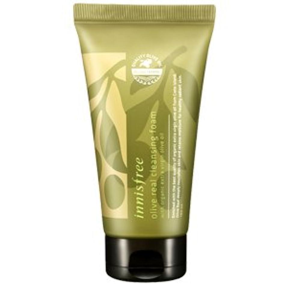 プラスチック土砂降り優れましたinnisfree(イニスフリー) Olive real cleansing foam AD オリーブ リアル クレンジング フォーム 150ml