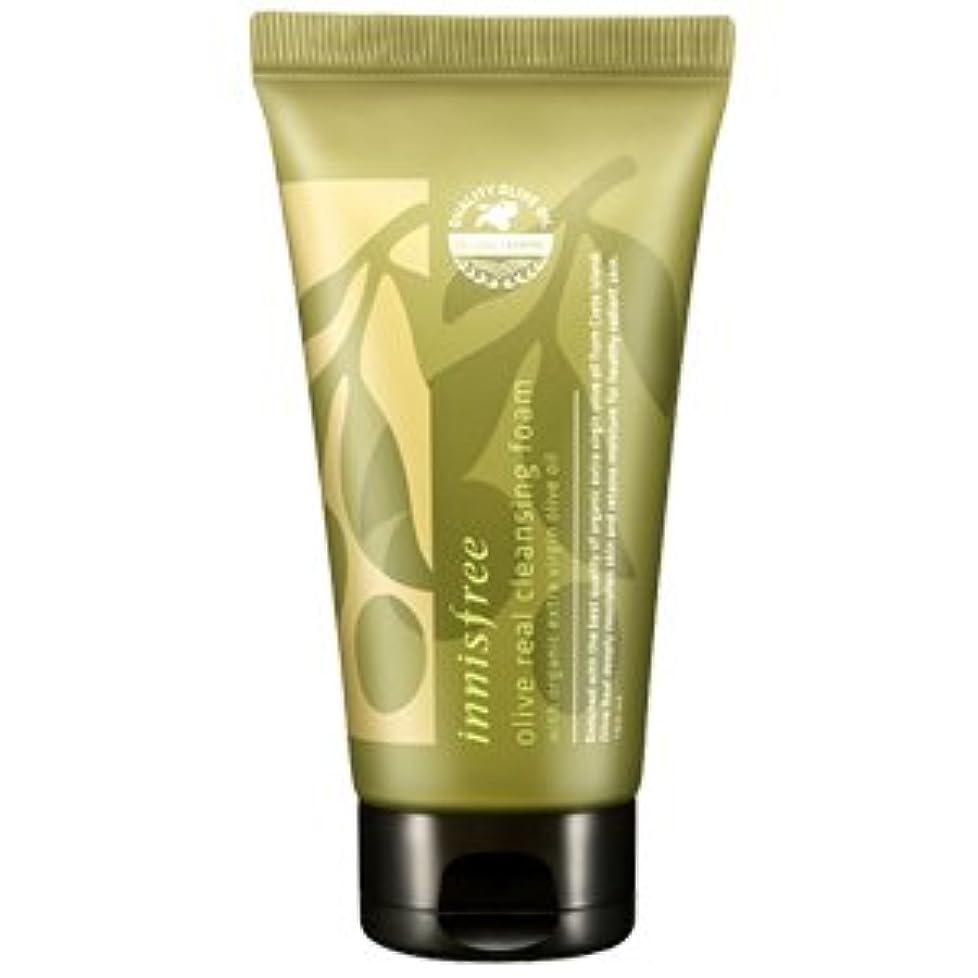 稼ぐ無条件然としたinnisfree(イニスフリー) Olive real cleansing foam AD オリーブ リアル クレンジング フォーム 150ml