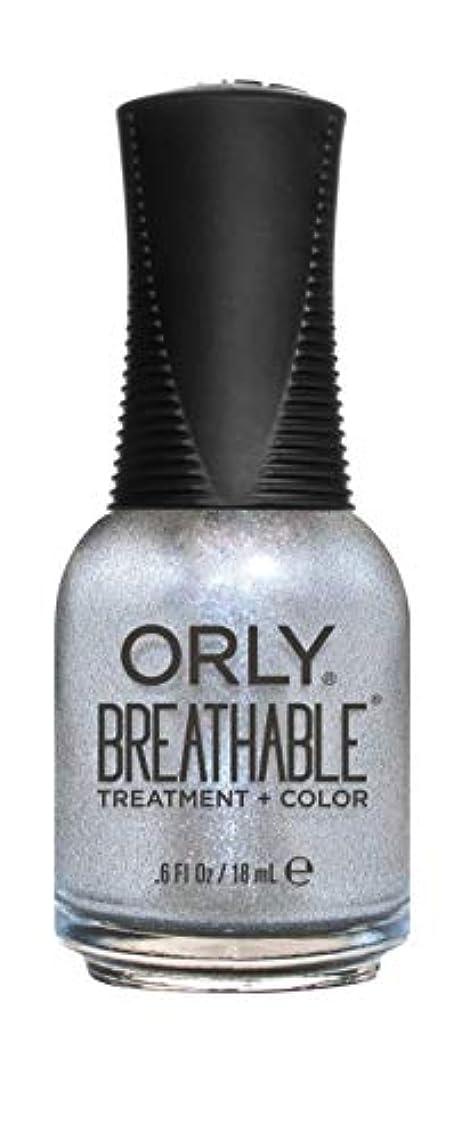 乙女珍味卒業記念アルバムORLY Breathable Lacquer - Treatment+Color - Elixir - 18 mL / 0.6 oz