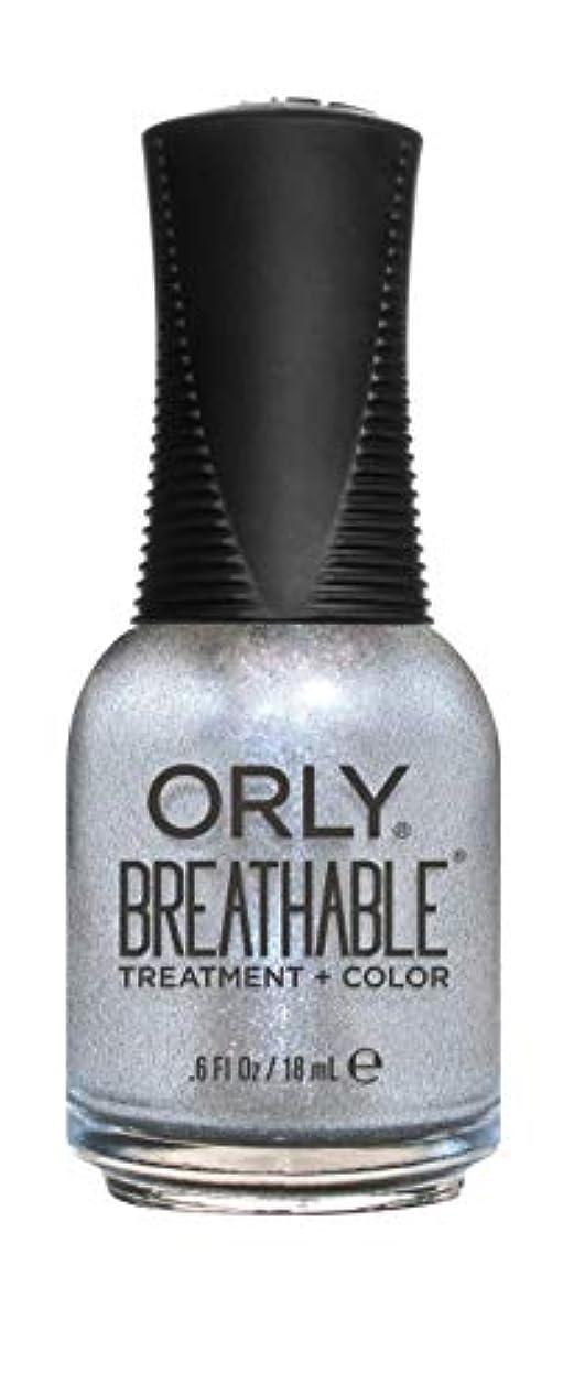 財団試みる自己尊重ORLY Breathable Lacquer - Treatment+Color - Elixir - 18 mL / 0.6 oz