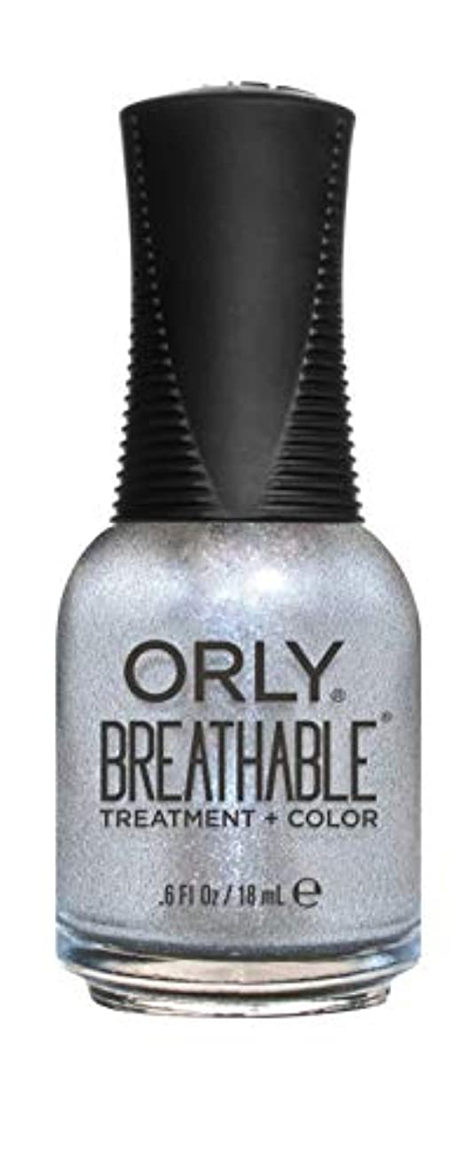 倉庫ドリンク敏感なORLY Breathable Lacquer - Treatment+Color - Elixir - 18 mL / 0.6 oz
