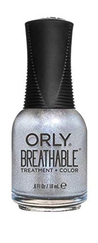 土地フェミニンしないORLY Breathable Lacquer - Treatment+Color - Elixir - 18 mL / 0.6 oz