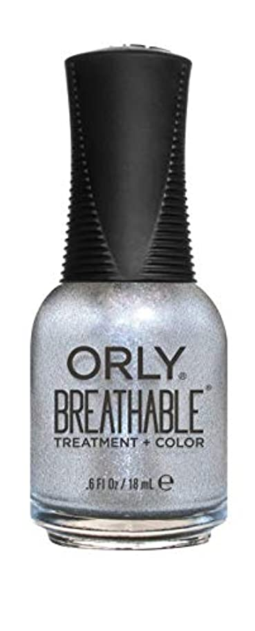 危険を冒します信号ぶら下がるORLY Breathable Lacquer - Treatment+Color - Elixir - 18 mL / 0.6 oz