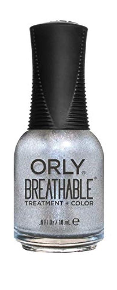 冷蔵する竜巻定期的ORLY Breathable Lacquer - Treatment+Color - Elixir - 18 mL / 0.6 oz