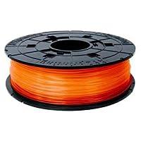 XYZプリンティングジャパン ダヴィンチJr. 専用 フィラメント(PLA樹脂) クリアオレンジ 600g RFPLCXJP07F 1個 〈簡易梱包