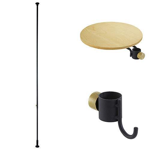 DRAW A LINE テーブル フック×2セット マットブラック