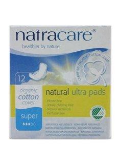 Natracare オーガニックコットン ナプキン 4箱セット(レギュラー羽つき 14枚入 x 1箱) + (スーパー羽つき 12枚入 x 1箱) + (スーパープラス羽なし 12枚入 x 1箱) + (ロング羽つき 10枚入 x 1箱)[海外直送品][並行輸入品]