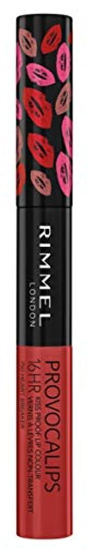 ディレイ幻滅するエアコンRIMMEL LONDON Provocalips 16Hr Kissproof Lip Colour - Heart Breaker (並行輸入品)