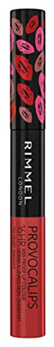 する必要がある求人枝RIMMEL LONDON Provocalips 16Hr Kissproof Lip Colour - Heart Breaker (並行輸入品)