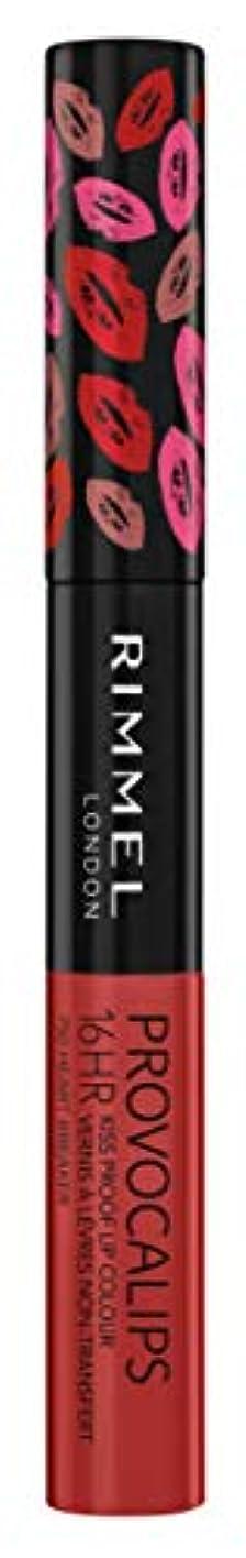 頑固なサーキュレーション旋回RIMMEL LONDON Provocalips 16Hr Kissproof Lip Colour - Heart Breaker (並行輸入品)