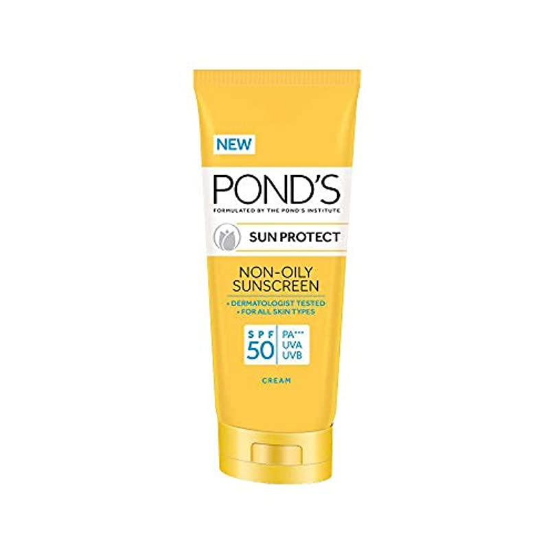 暗黙死んでいる聖歌POND'S SPF 50 Sun Protect Non-Oily Sunscreen, 80 g