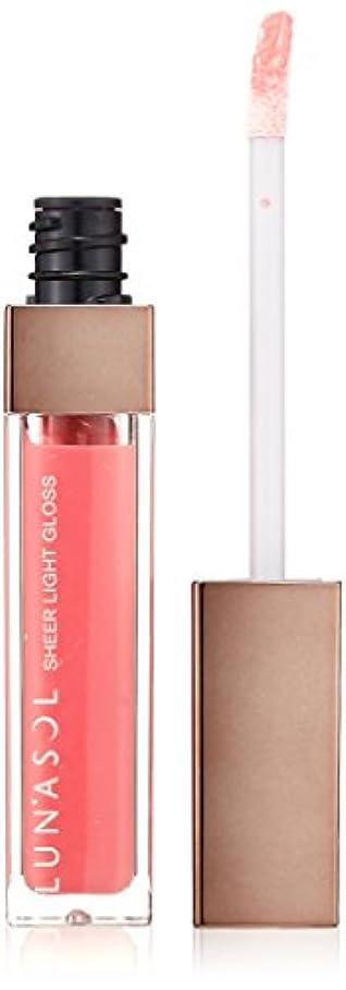 すなわち媒染剤公式ルナソル シアーライトグロス 03 Petal Pink グロス