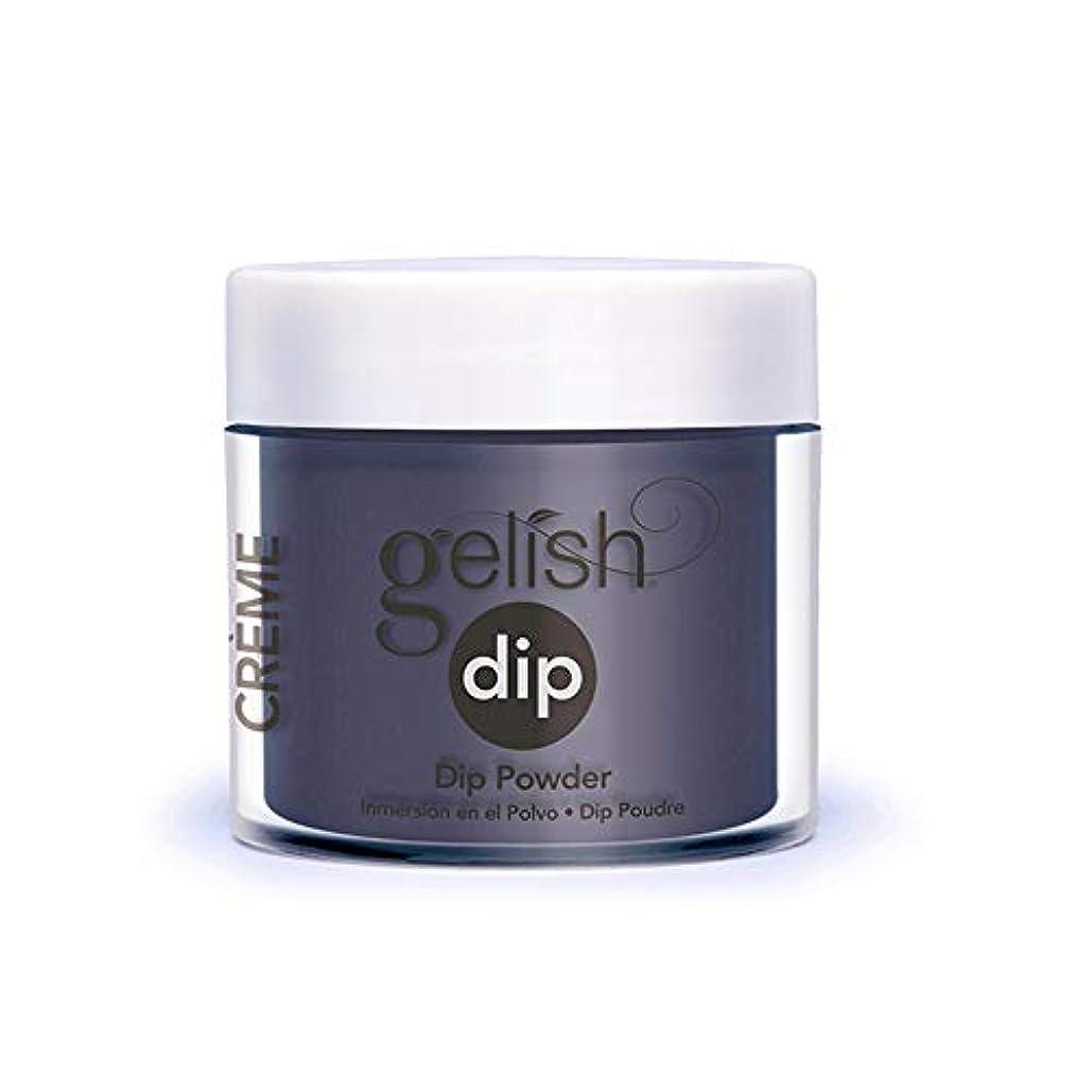 カメ副半島Harmony Gelish - Acrylic Dip Powder - Denim Du Jour - 23g / 0.8oz