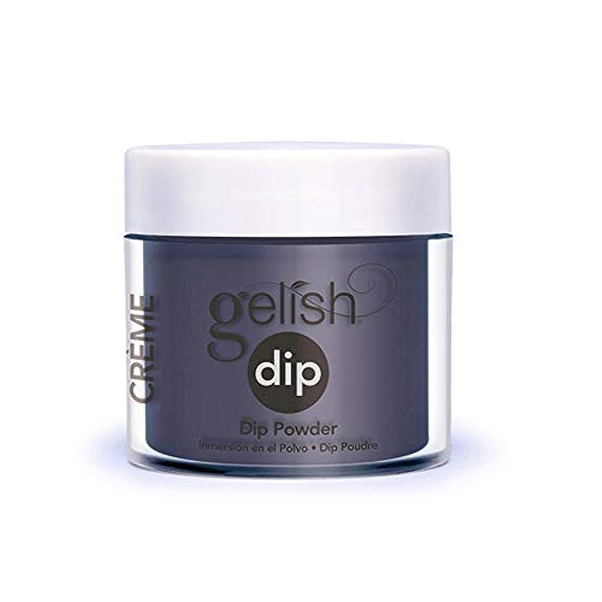 追放国抽象化Harmony Gelish - Acrylic Dip Powder - Denim Du Jour - 23g / 0.8oz