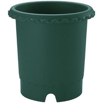 リッチェル バラ鉢 8号 φ240×240H ダークグリーン