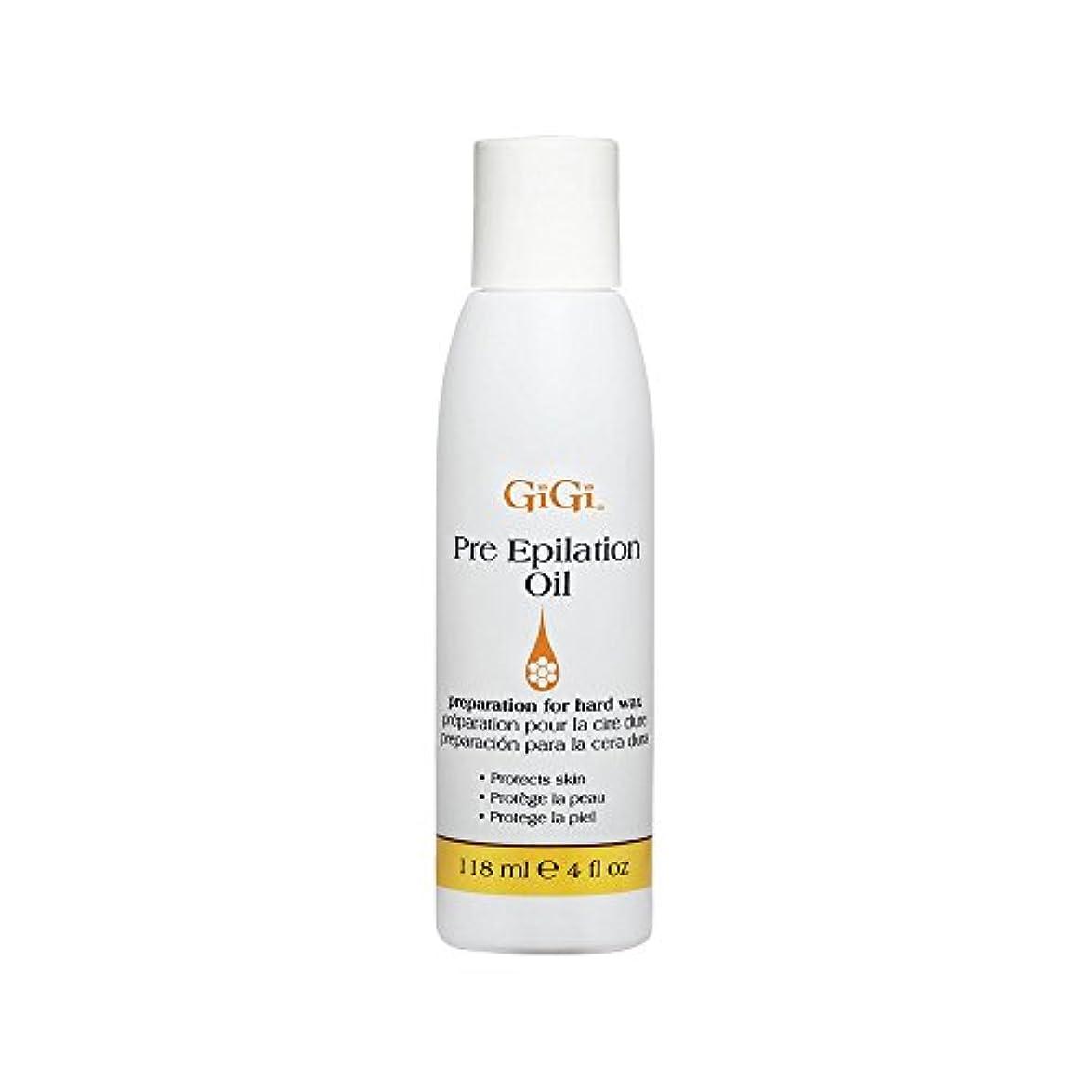 食堂ガム発動機GiGi Pre Epilation Oil - Allows For Easier & More Effective Waxing While Protecting & Conditioning Skin - Preparation...