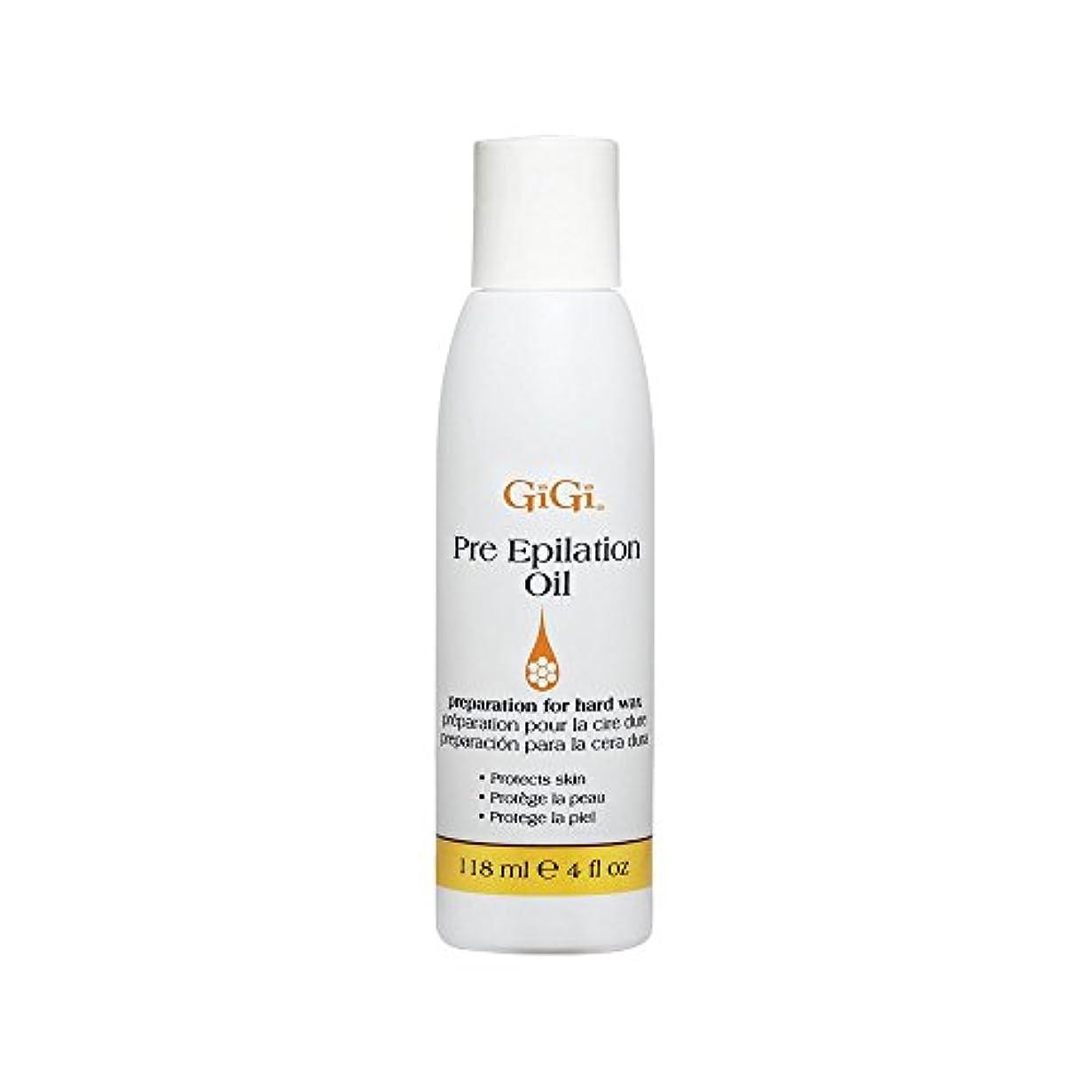 大通りツーリストメロドラマGiGi Pre Epilation Oil - Allows For Easier & More Effective Waxing While Protecting & Conditioning Skin - Preparation...