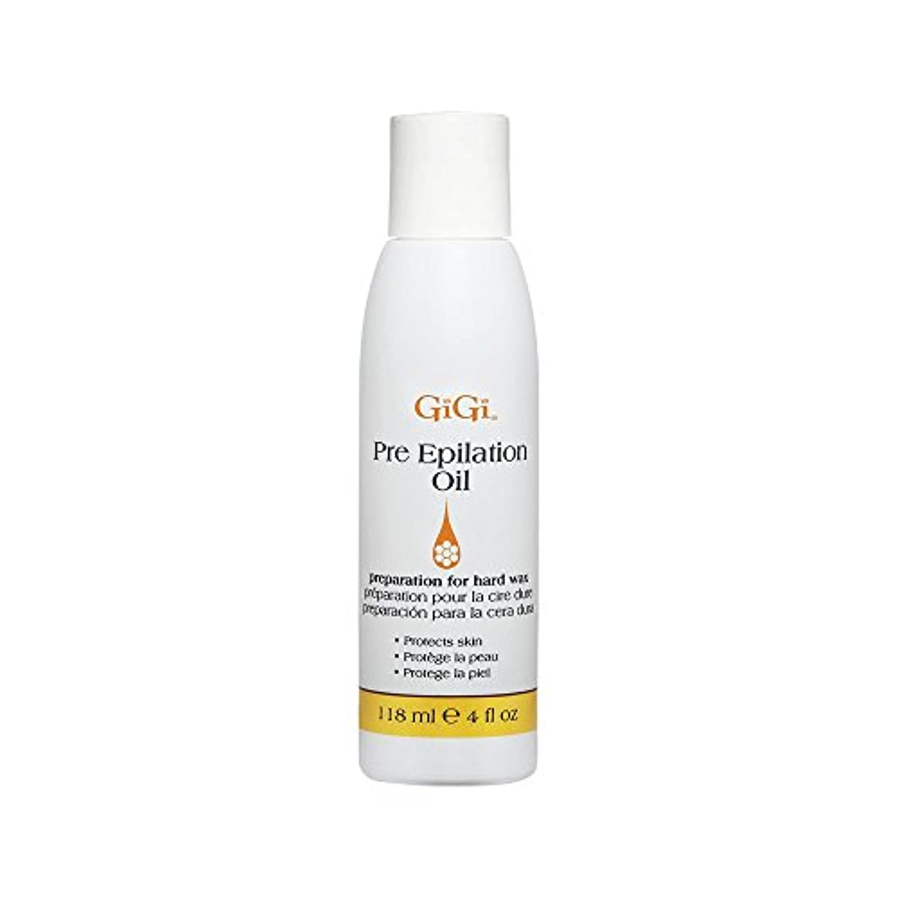 GiGi Pre Epilation Oil - Allows For Easier & More Effective Waxing While Protecting & Conditioning Skin - Preparation...