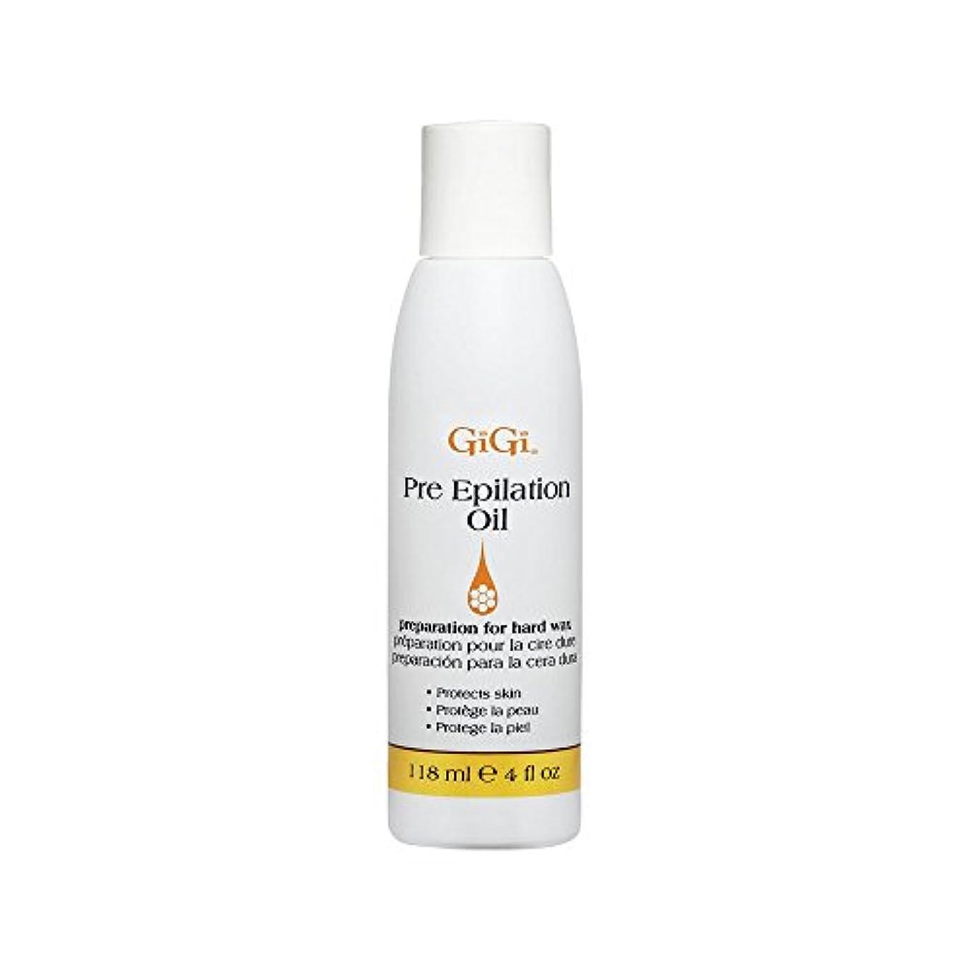 麻痺洞察力のある錆びGiGi Pre Epilation Oil - Allows For Easier & More Effective Waxing While Protecting & Conditioning Skin - Preparation...