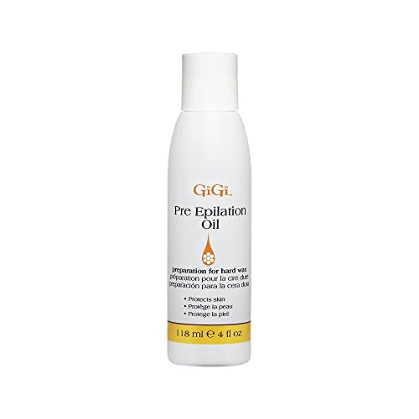 宝石ノート花輪GiGi Pre Epilation Oil - Allows For Easier & More Effective Waxing While Protecting & Conditioning Skin - Preparation...