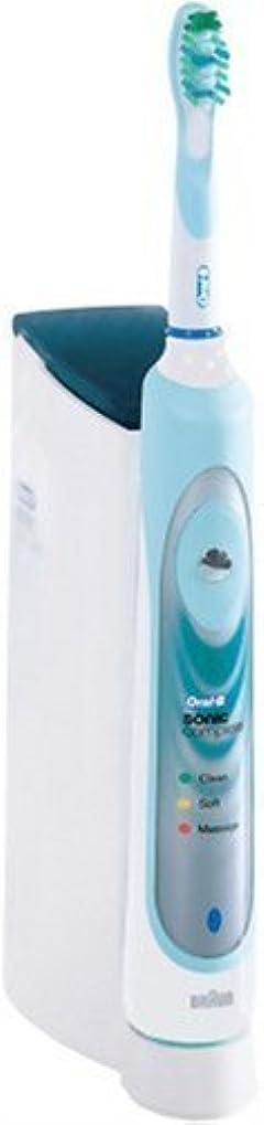 速い鉛フルーツブラウン オーラルB 電動歯ブラシ ソニックコンプリート S1800