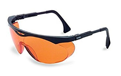 Uvex S1933X Skyper Safety Eyewear, Black Frame, Sct-Orange Uv Extreme Anti-Fog Lens[並行輸入品]
