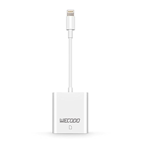 WECODO SDカードリーダー iPhone 8/8 Pl...