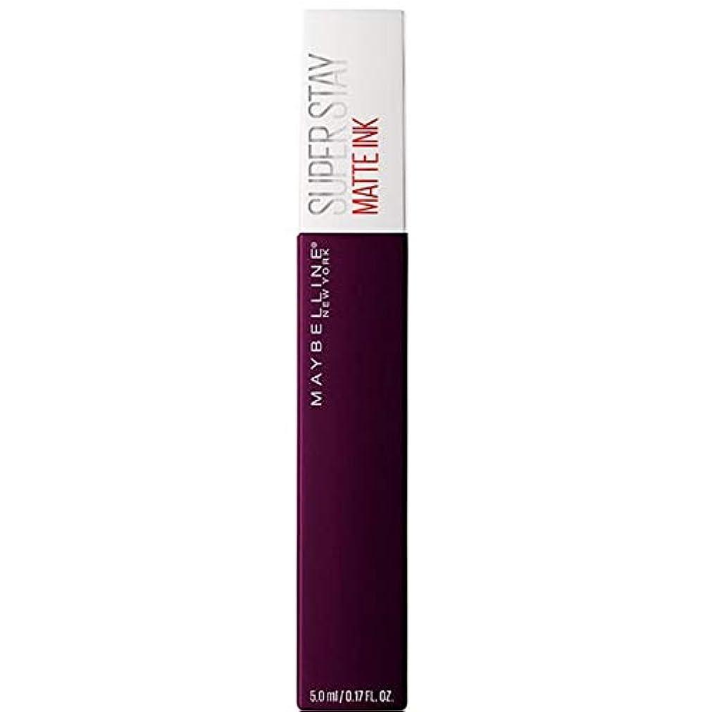 薬理学重量トラクター[Maybelline ] メイベリンSuperstayマットインク液45現実逃避 - Maybelline Superstay Matte Ink Liquid 45 Escapist [並行輸入品]