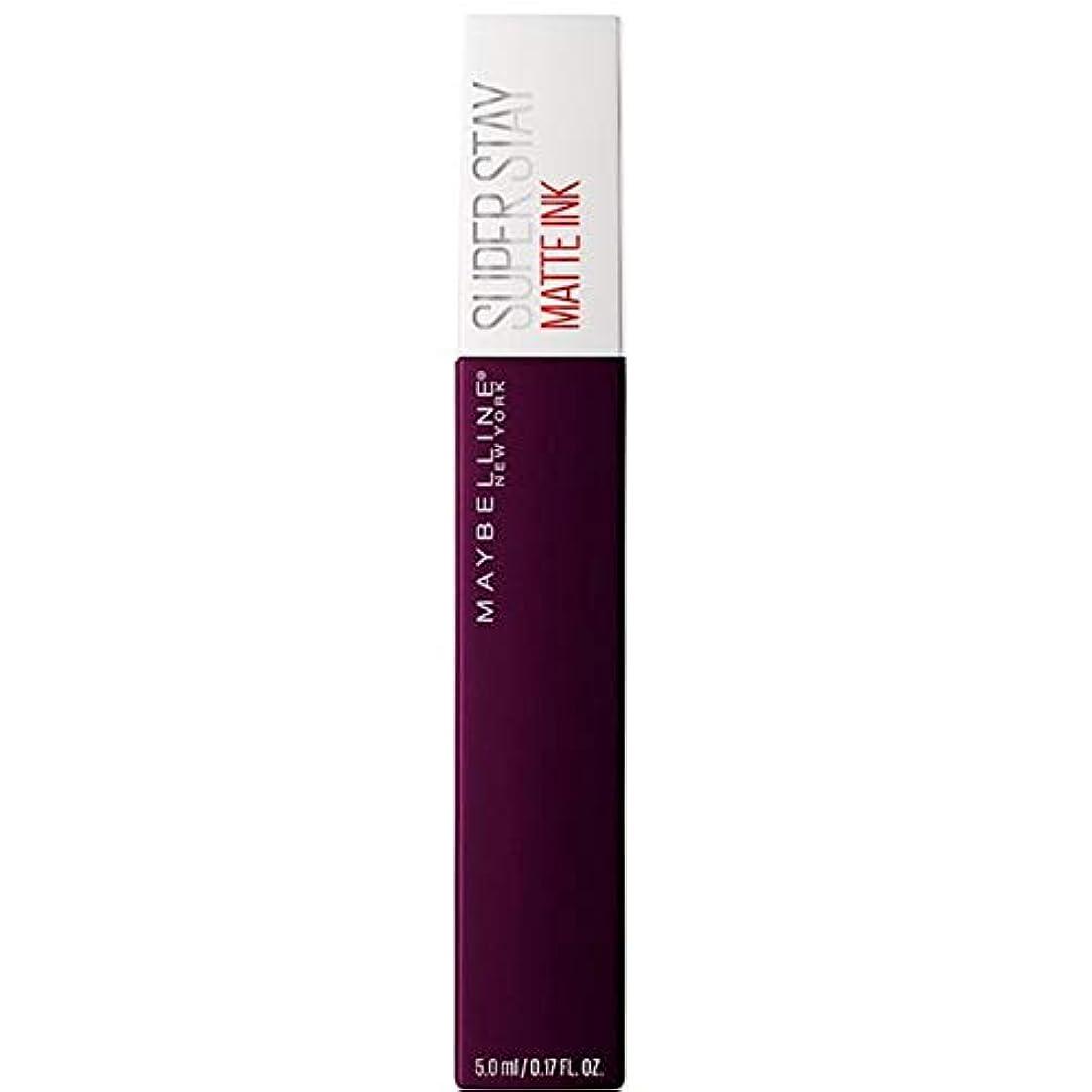 硬化する発明重要性[Maybelline ] メイベリンSuperstayマットインク液45現実逃避 - Maybelline Superstay Matte Ink Liquid 45 Escapist [並行輸入品]