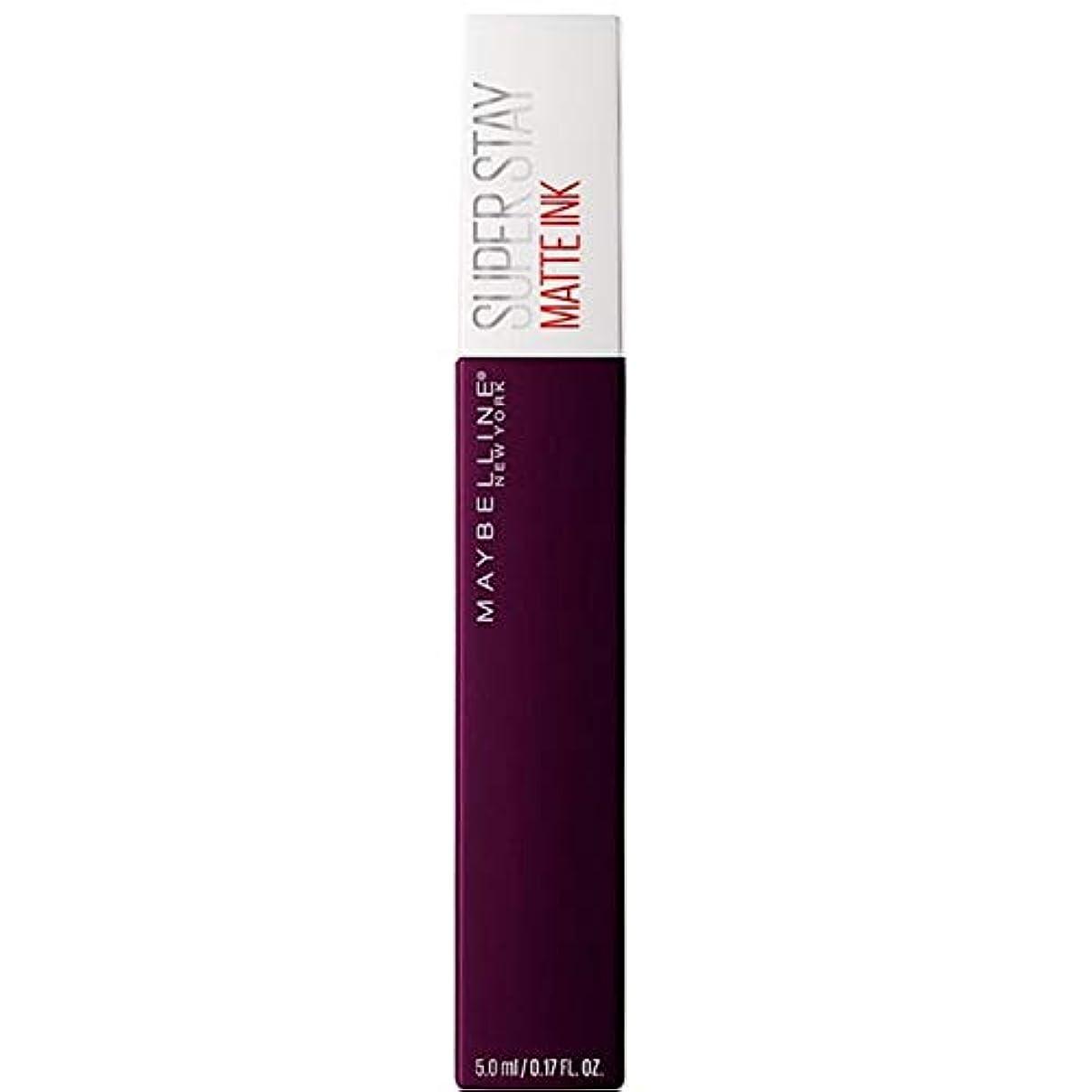 貧しい精算文献[Maybelline ] メイベリンSuperstayマットインク液45現実逃避 - Maybelline Superstay Matte Ink Liquid 45 Escapist [並行輸入品]
