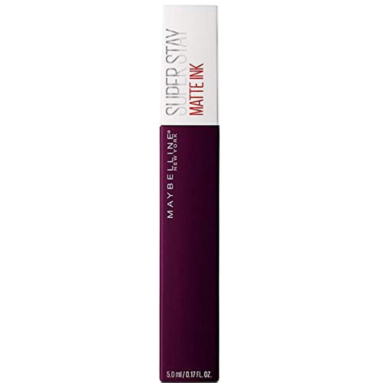 不良品圧縮するスピリチュアル[Maybelline ] メイベリンSuperstayマットインク液45現実逃避 - Maybelline Superstay Matte Ink Liquid 45 Escapist [並行輸入品]
