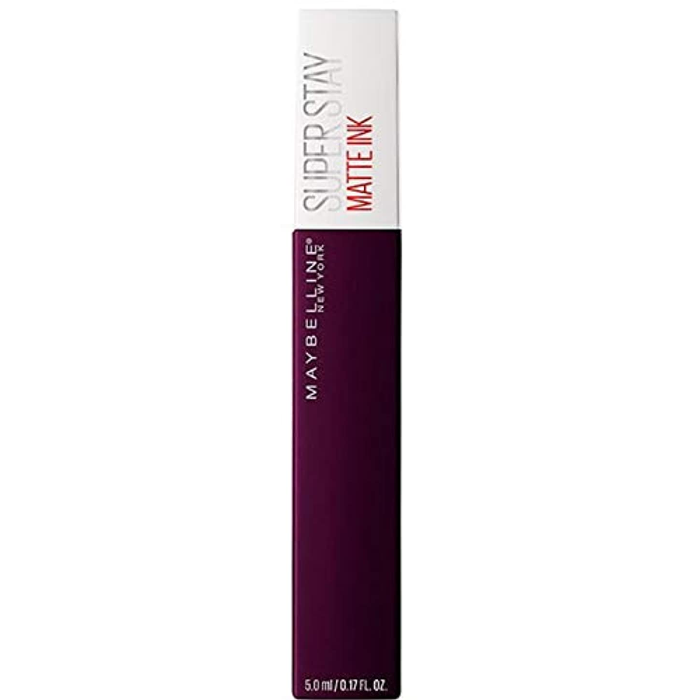 テニスバターマガジン[Maybelline ] メイベリンSuperstayマットインク液45現実逃避 - Maybelline Superstay Matte Ink Liquid 45 Escapist [並行輸入品]