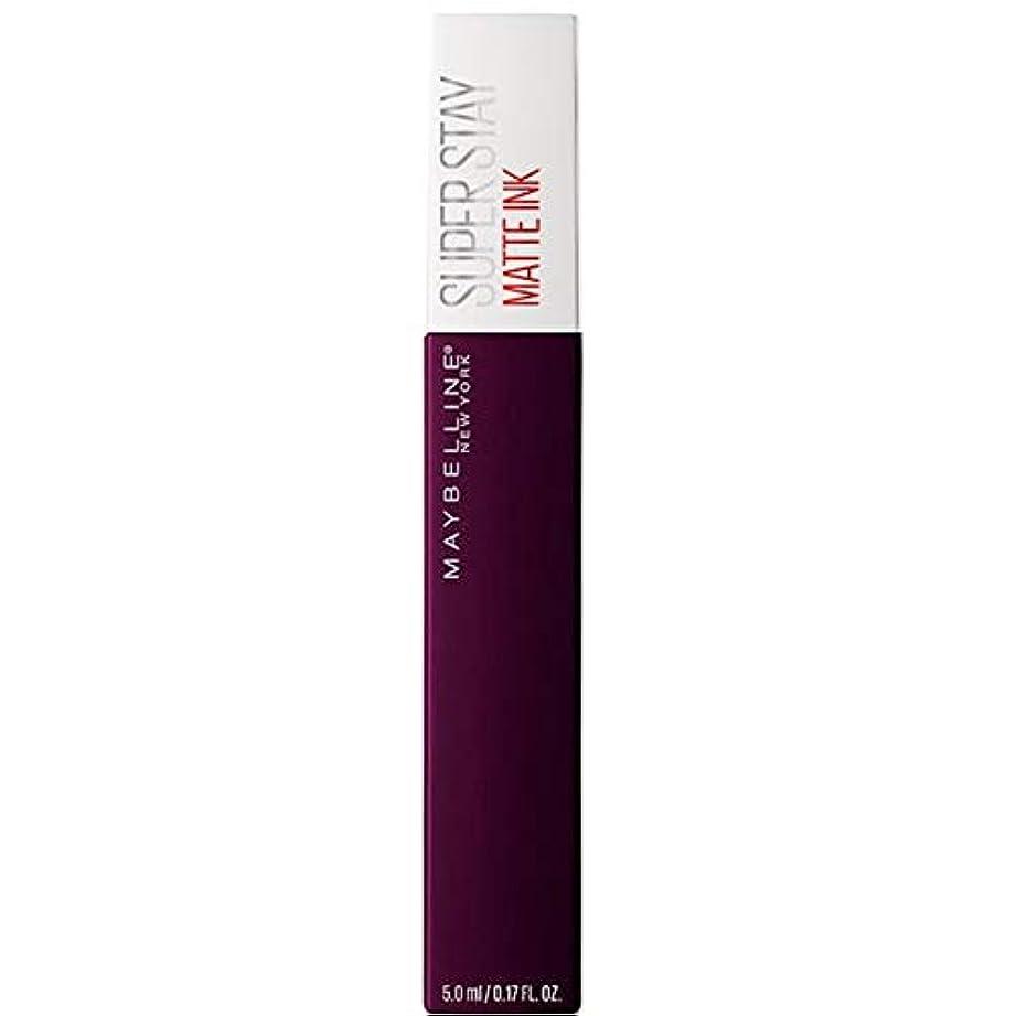 銅ランクテメリティ[Maybelline ] メイベリンSuperstayマットインク液45現実逃避 - Maybelline Superstay Matte Ink Liquid 45 Escapist [並行輸入品]