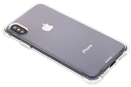 【Spigen】 スマホケース iPhone XS ケース/iPhone X ケース 5.8インチ TPU 全面クリア 耐衝撃 米軍MIL規格取得 ワイヤレス充電対応 ラギッド・ クリスタル 057CS22117 (クリスタル・クリア)