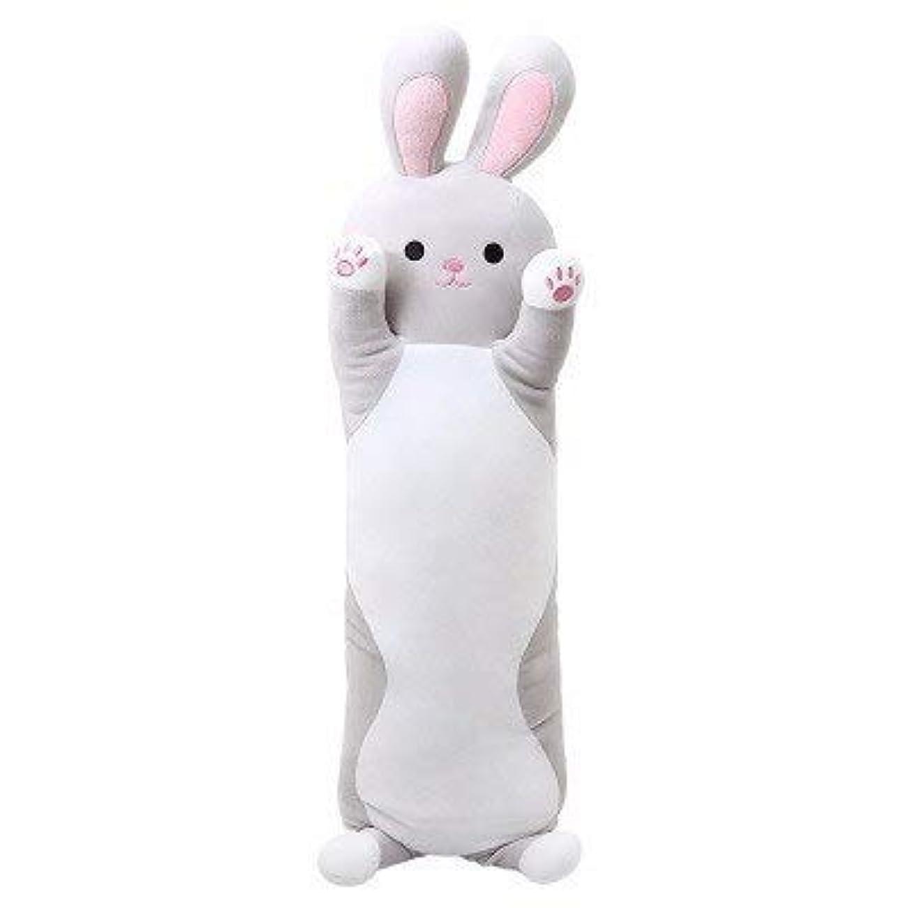 ちっちゃい添加剤好戦的なLIFE センチメートルウサギのぬいぐるみロング睡眠枕を送信するために女の子 Almofada クッション床 Coussin Cojines 装飾 Overwatch クッション 椅子