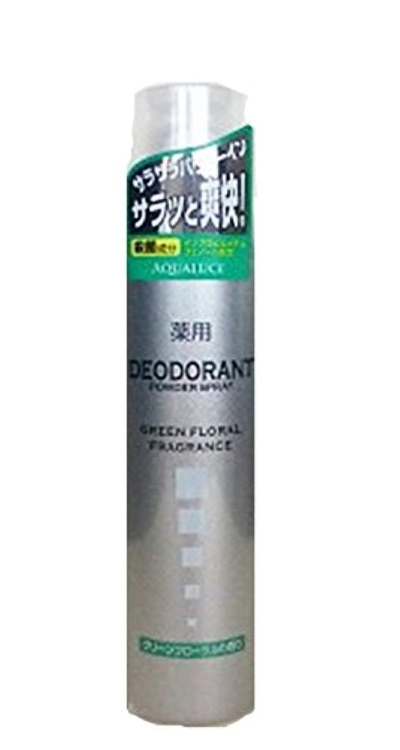 スマイル別にフェデレーションアクアルーチェ 薬用デオドラントスプレー グリーンフローラルの香り 205g