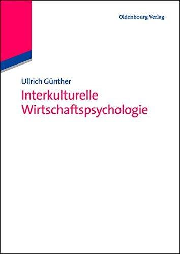 Interkulturelle Wirtschaftspsycholgie