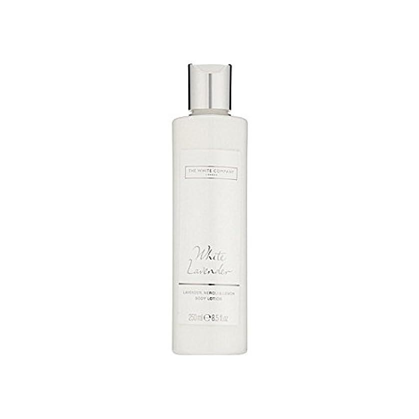 買い物に行く裸配分白同社白ラベンダーボディローション x4 - The White Company White Lavender Body Lotion (Pack of 4) [並行輸入品]