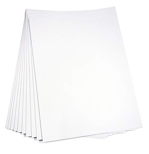 工作用ボール紙【両白カルトナージュ】約1?厚 A3やや大きめ(320×440?)10枚入