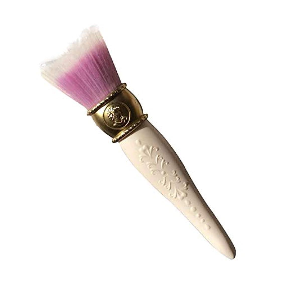 はげ何でも逆さまに笑え熊 貴族のシルバー ゴールド 高級タクロン 高級繊維毛 化粧ブラシ 化粧筆 手作業 化粧ポーチ付き