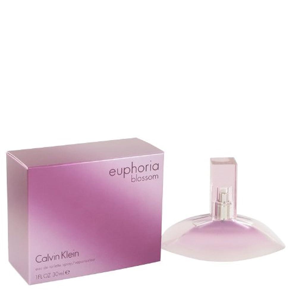 香水倫理重要CK ユーフォリアブロッサム EDT SP 30ml