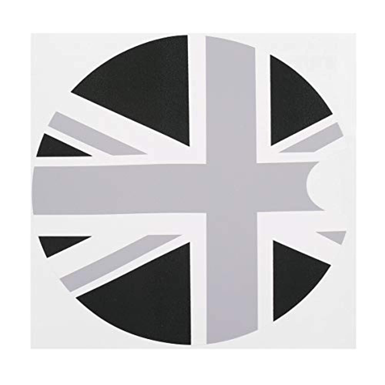 Saikogoods 新しい1ピース180 * 180ミリメートルpvcミニクーパーF55 f56車のガソリンディーゼル燃料タンクキャップガスカバービニールステッカーデカール英国英国旗